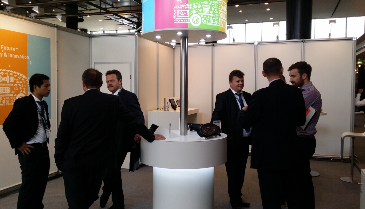 First ConCarExpo  in Duesseldorf